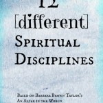 12 [different] spiritual disciplines