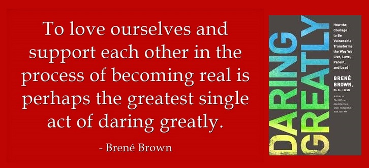 Image result for brene brown daring greatly