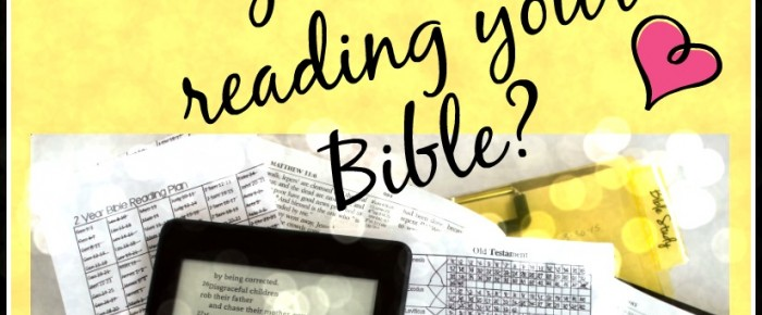 Do you read the Bible over and over?