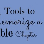Index – Tools to Memorize a Bible Chapter {31 Days Series}