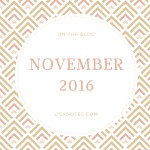 On the Blog – November 2016