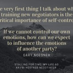 If You Have to Negotiate