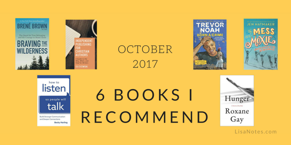 Books-I-Recommend-October-2017-LisaNotes