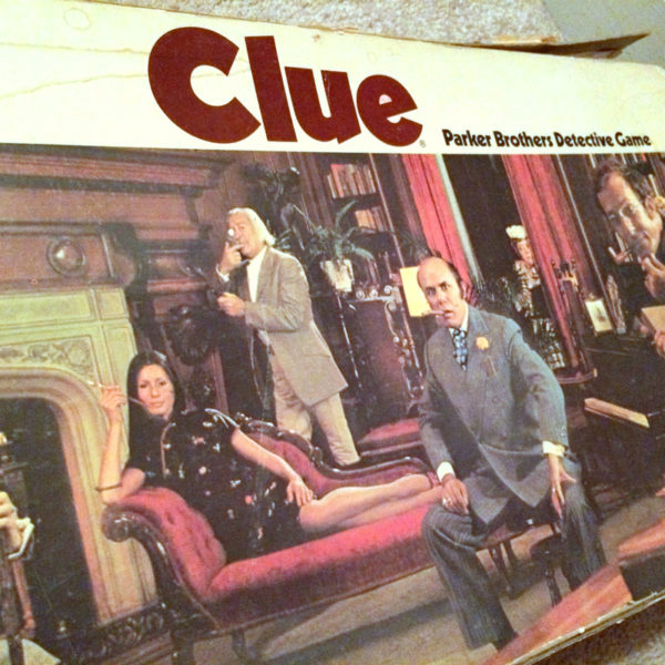 Clue-boardgame