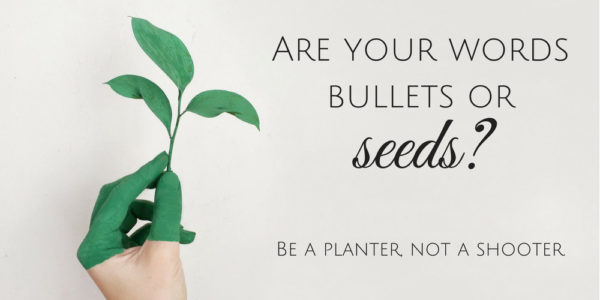 Bullets or Seeds