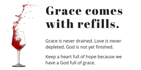 Grace comes with refills